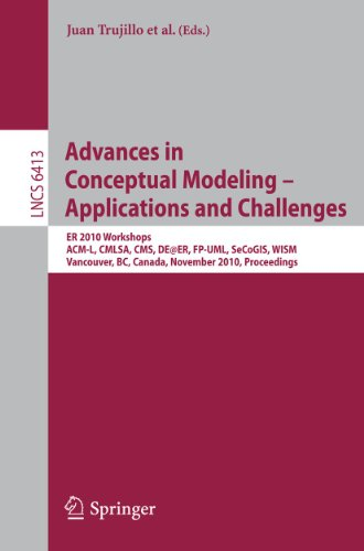 Advances in Conceptual Modeling - Applications and Challenges