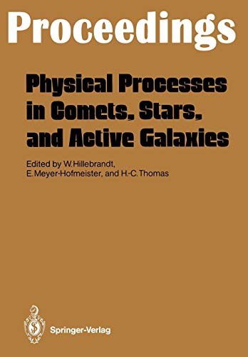 Physical Processes in Comets, Stars and Active Galaxies