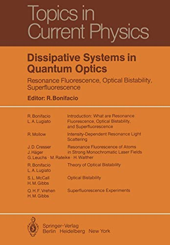 Dissipative Systems in Quantum Optics