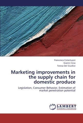 Marketing improvements in the supply chain for domestic produce