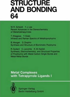 Metal Complexes with Tetrapyrrole Ligands I