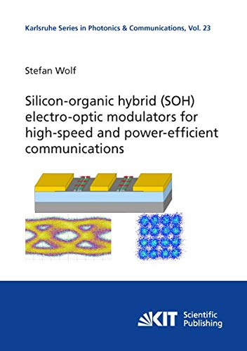 Silicon-organic hybrid (SOH) electro-optic modulators for high-speed and power-efficient communications