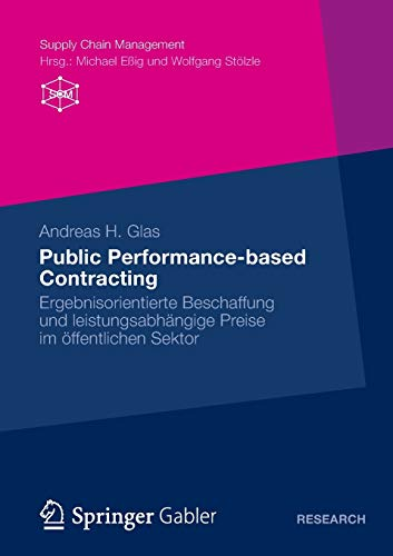 Public Performance-Based Contracting