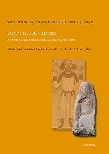 Egypt 1350 BC to Ad 1800