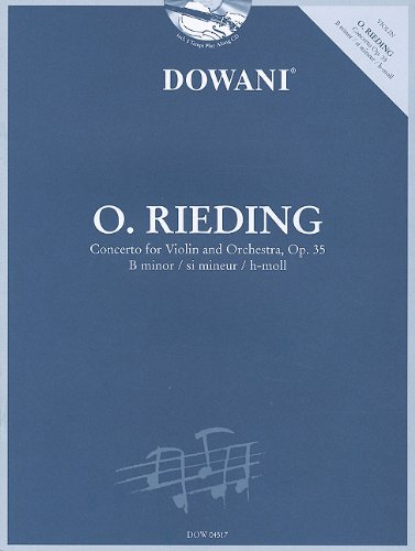 Rieding - Concerto in B Minor for Violin and Orchestra Op. 35