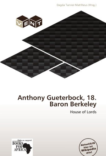 Anthony Gueterbock, 18. Baron Berkeley