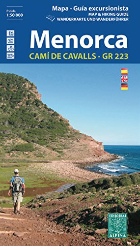 Menorca GR223 - Guide + Hiking and MTB Map 2018