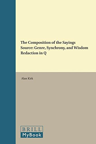 The Composition of the Sayings Source