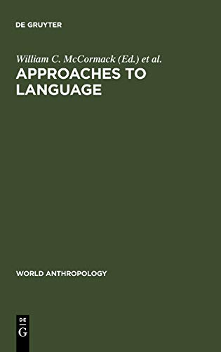 Approaches to Language