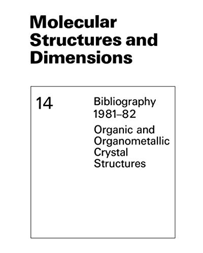 Molecular Structures and Dimensions