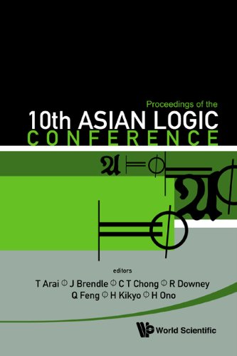 Proceedings Of The 10th Asian Logic Conference