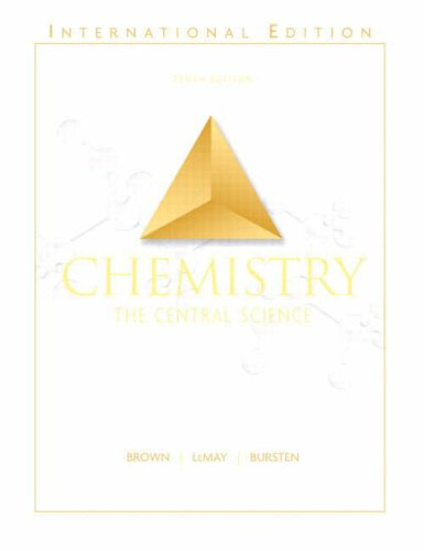 Chemistry : The Central Science: International Edition