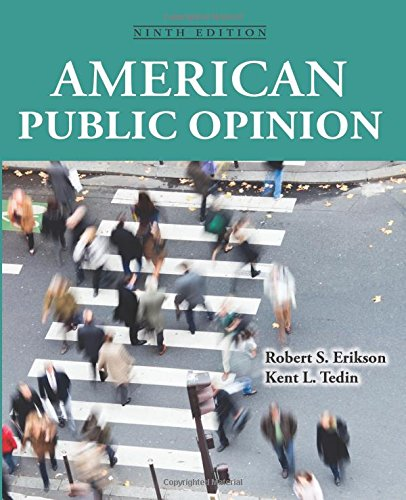 American Public Opinion : Its Origins, Content and Impact