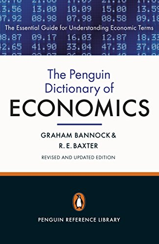 The Penguin Dictionary of Economics : Eighth Edition