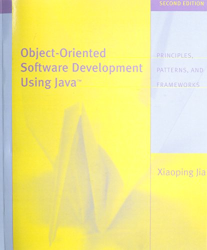 Object Oriented Software Development Using Java : United States Edition