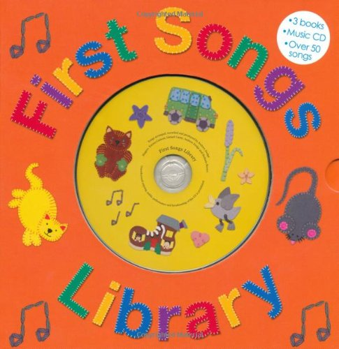 First Songs Library : Over 50 Songs! Includes 3 Books with a CD