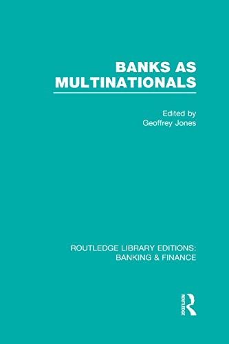 Banks as Multinationals