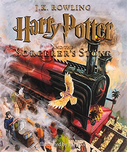 Harry Potter and the Sorcerer's Stone: The Illustrated Edition (Harry Potter, Book 1), Volume 1 : The Illustrated Edition