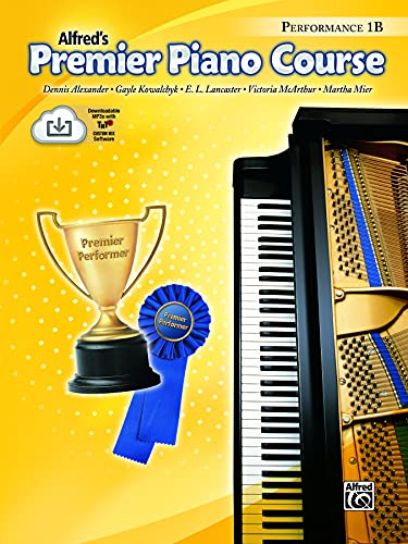 Premier Piano Course Performance, Bk 1b : Book & CD