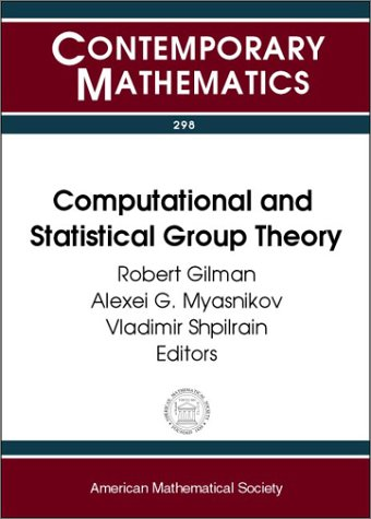 Computational and Statistical Group Theory : AMS Special Session Geometric Group Theory, April 21-22, 2001, Las Vegas, Nevada : AMS Special Session Computational Group Theory, April 28-29, 2001, Hoboken, New Jersey