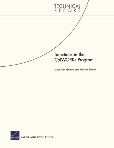 Sanctions in the CalWORKs Program