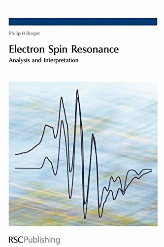 Electron Spin Resonance : Analysis and Interpretation