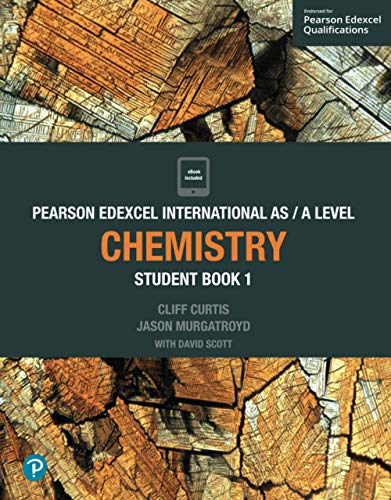 Pearson Edexcel International AS Level Chemistry Student Book