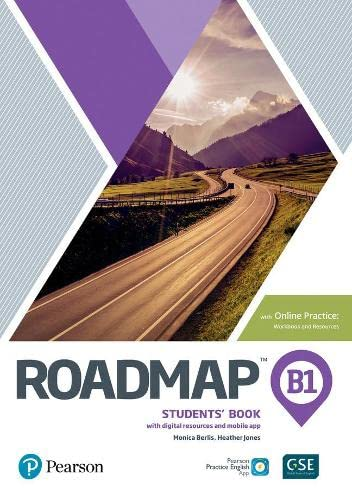 Roadmap B1 Students' Book with Online Practice, Digital Resources & App Pack