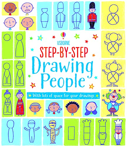 Step-by-Step Drawing Book : People