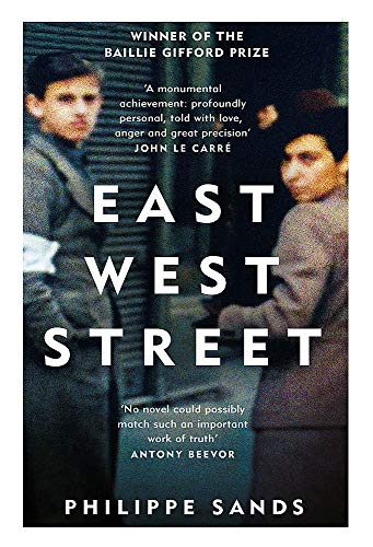 East West Street : Non-fiction Book of the Year 2017