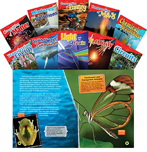 Let's Explore Physical Science Grades 4-5, 10-Book Set (Informational Text: Exploring Science)