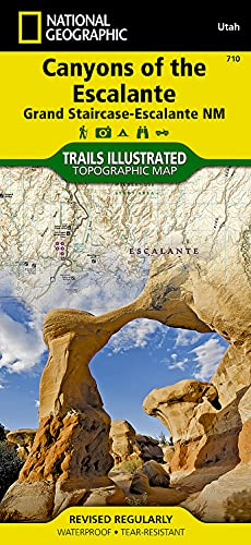 Canyons Of The Escalante : Trails Illustrated Other Rec. Areas