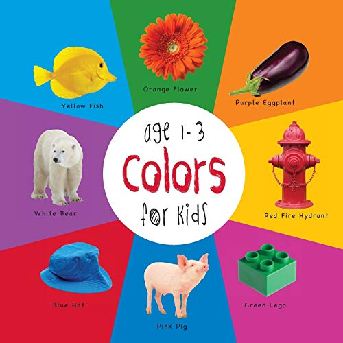 Colors for Kids Age 1-3 (Engage Early Readers : Children's Learning Books) with Free eBook