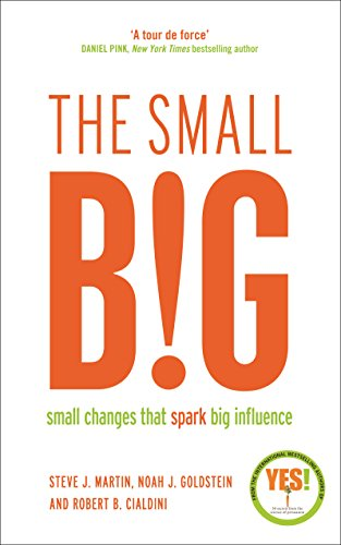 The small BIG : Small Changes that Spark Big Influence