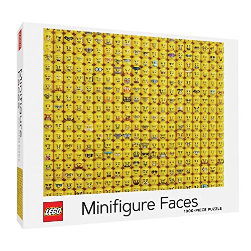 LEGO (R) Minifigure Faces 1000-Piece Puzzle