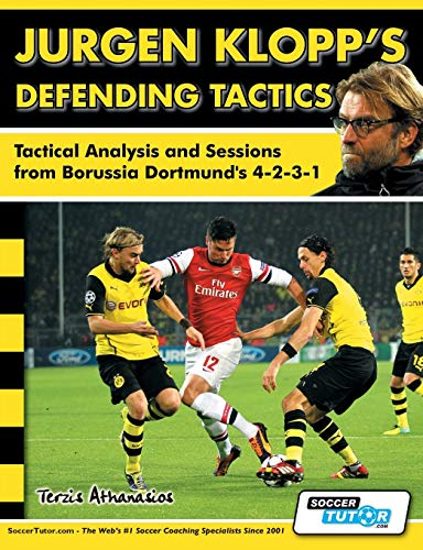Jurgen Klopp's Defending Tactics - Tactical Analysis and Sessions from Borussia Dortmund's 4-2-3-1