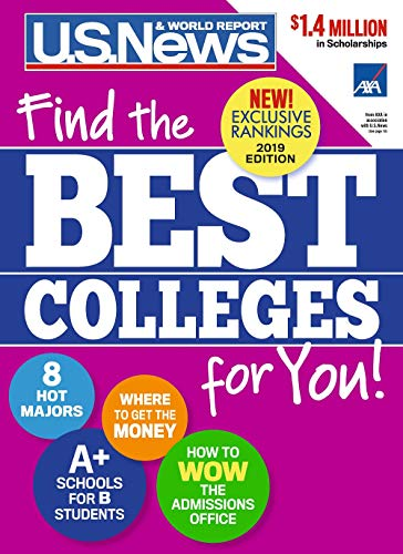 Best Colleges 2019 : Find the Best Colleges for You!