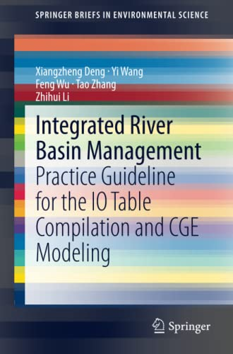 Integrated River Basin Management : Practice Guideline for the IO Table Compilation and CGE Modeling