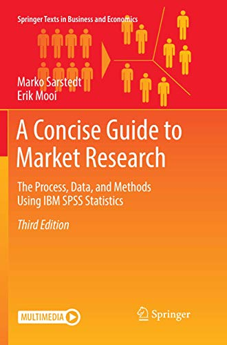 A Concise Guide to Market Research : The Process, Data, and Methods Using IBM SPSS Statistics