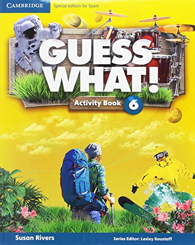 Guess What! Level 6 Activity Book with Home Booklet and Online Interactive Activities Spanish Edition